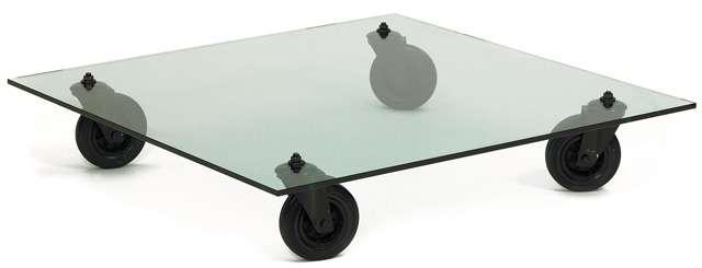 Tavolo con ruote 140x70 gae aulenti fontana arte ebay - Tavolo con ruote gae aulenti ...