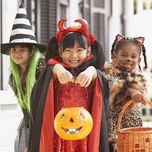 Dulce o truco en Halloween