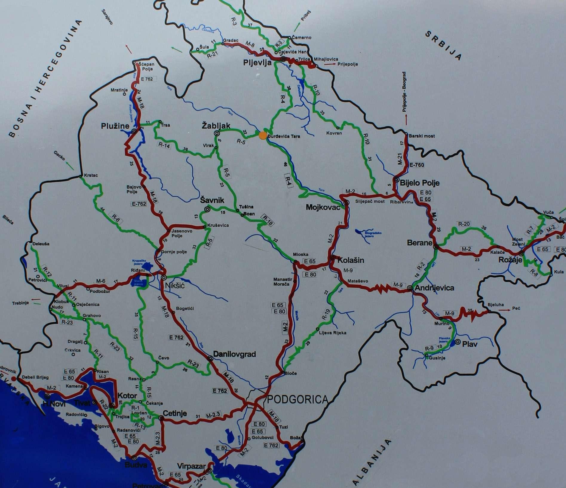 Tara River Bridge | Rafting in Montenegro