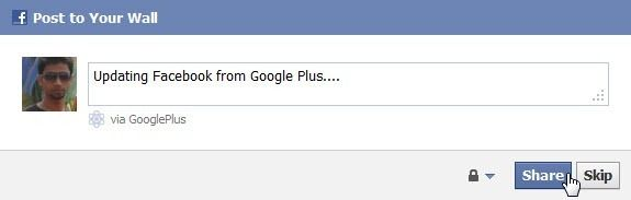 Google+Facebook: How to Access Facebook from Google Plus
