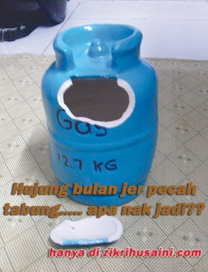 pecah tabung, gambar tabung, money box, gas money box, tabung gas, tabung gas yang pecah, tabung yang sudah pecah, tabung pecah,